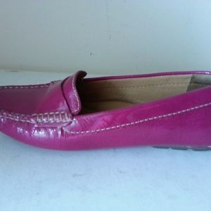 Clarks Artisan rose shiny loafers - womens 7.5 M